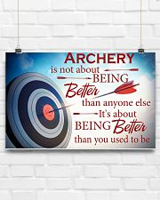Archer It's About Being Better Than You Used To Be 17x11 Poster poster-landscape-17x11-lifestyle-17