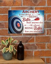 Archer It's About Being Better Than You Used To Be 17x11 Poster poster-landscape-17x11-lifestyle-23