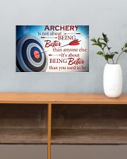 Archer It's About Being Better Than You Used To Be 17x11 Poster poster-landscape-17x11-lifestyle-24