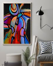 Contrabass Man Color Art 11x17 Poster lifestyle-poster-1