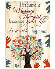 I Became A Massage Therapist 11x17 Poster front
