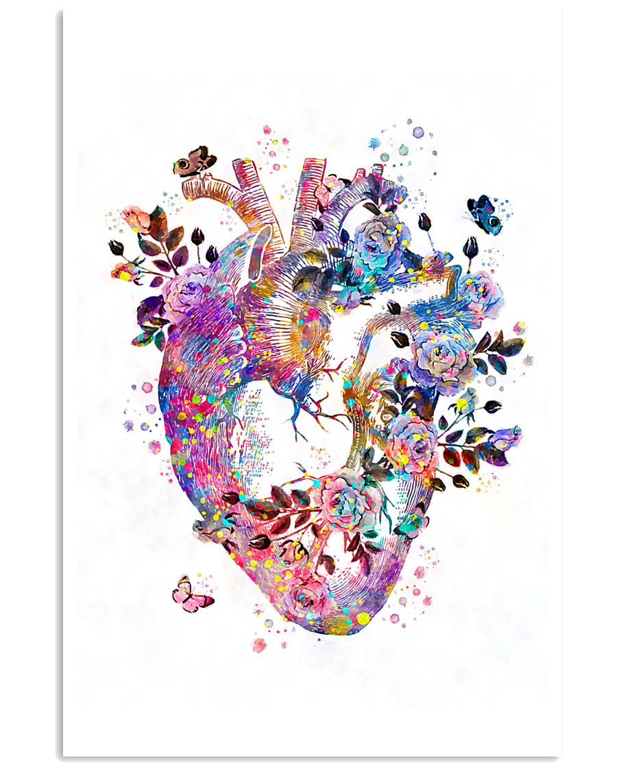 Beautiful Heart Cardiology 11x17 Poster
