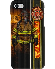 Firefighter Walking Out Of Fire Phone Case i-phone-7-case