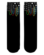 Synthesizer Modular Crew Length Socks front