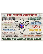 Chemist In This Office 17x11 Poster front