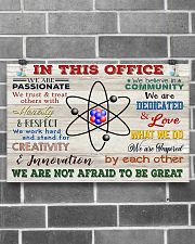 Chemist In This Office 17x11 Poster poster-landscape-17x11-lifestyle-18