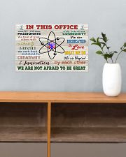 Chemist In This Office 17x11 Poster poster-landscape-17x11-lifestyle-24
