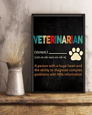 Veterinarian Definition 11x17 Poster lifestyle-poster-3