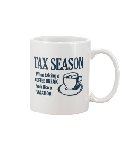 Accountant - Taking a coffee break like a vacation