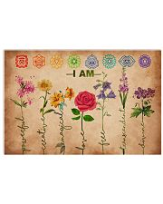 Yoga - I am powerful creative 17x11 Poster front