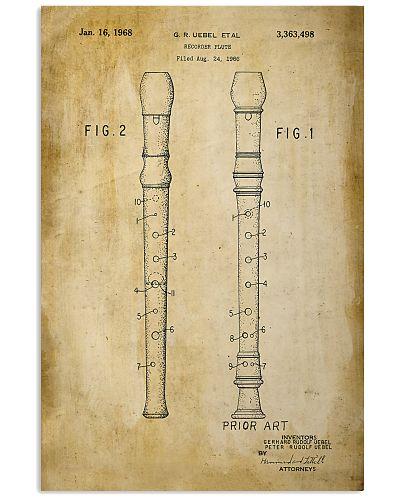 Recorder Flute Vintage