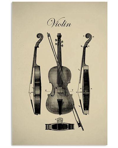 Parts of Violin