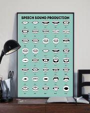 SLP Speech Sound Production 11x17 Poster lifestyle-poster-2