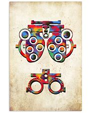 Optometrist Phoropter Poster  11x17 Poster front