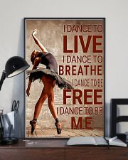 Ballet - I dance to live I dance to breathe  11x17 Poster lifestyle-poster-2