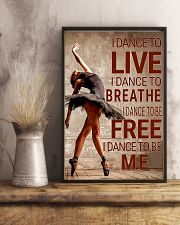 Ballet - I dance to live I dance to breathe  11x17 Poster lifestyle-poster-3