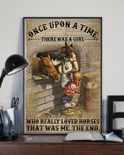 There was a girl who really loved horses 11x17 Poster lifestyle-poster-2