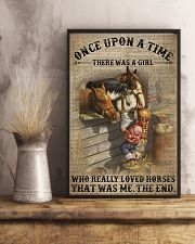 There was a girl who really loved horses 11x17 Poster lifestyle-poster-3