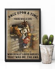 There was a girl who really loved horses 11x17 Poster lifestyle-poster-8