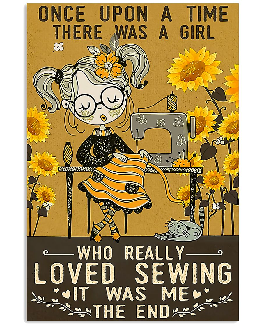 Sewing Girl Once Upon A Time 11x17 Poster