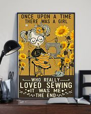 Sewing Girl Once Upon A Time 11x17 Poster lifestyle-poster-2
