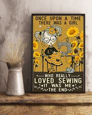 Sewing Girl Once Upon A Time 11x17 Poster lifestyle-poster-3