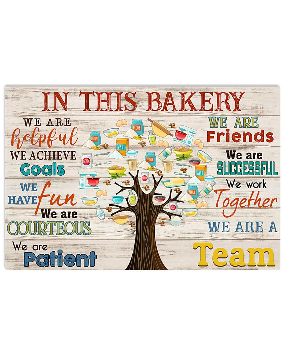 Baker bake In This Bakery 17x11 Poster