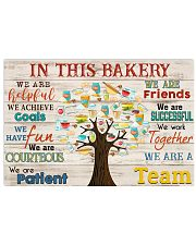 Baker bake In This Bakery 17x11 Poster front