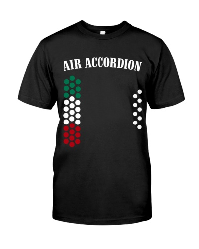 Accordionist Air Accordion