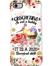 Crocheting It Is A 2020 Survival Skill Phone Case i-phone-7-case