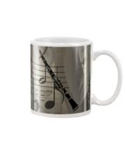 Clarinet Music Mug tile