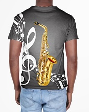 Saxophone Music Notes All-over T-Shirt aos-all-over-T-shirt-lifestyle-back-02