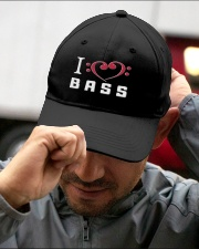 Love Bass Guitar Embroidered Hat garment-embroidery-hat-lifestyle-01