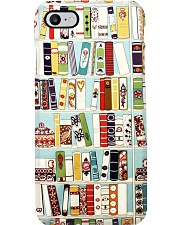 Librarian Floral Books Phone Case i-phone-7-case