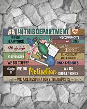In This Department We Are Respiratory Therapists 17x11 Poster poster-landscape-17x11-lifestyle-13