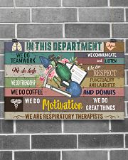 In This Department We Are Respiratory Therapists 17x11 Poster poster-landscape-17x11-lifestyle-18