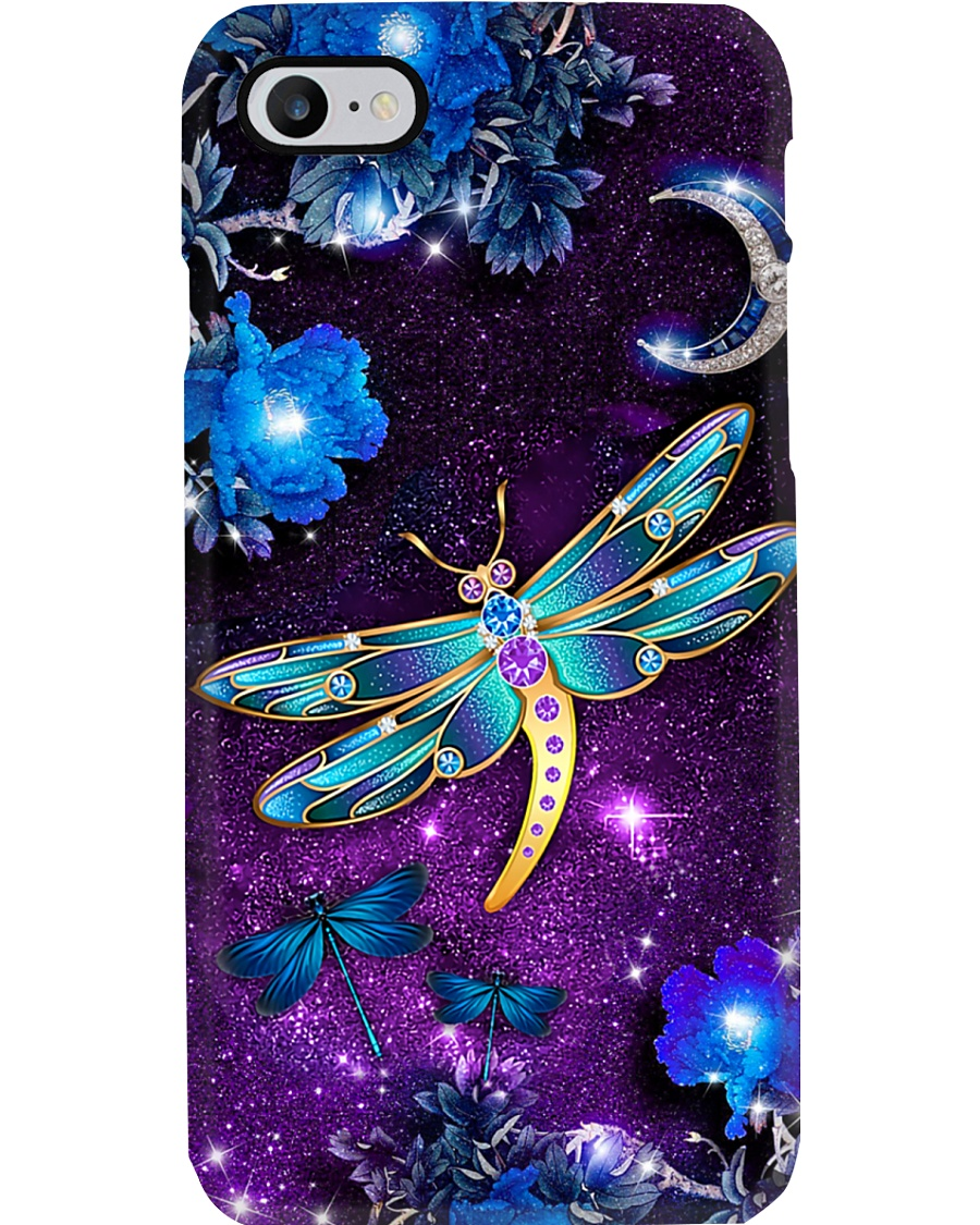Suicide Prevention Purple Dragonfly Phone Case