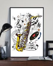 Saxophone Music  11x17 Poster lifestyle-poster-2