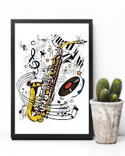 Saxophone Music  11x17 Poster lifestyle-poster-8
