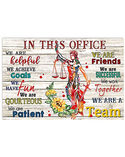 We Are A Team Paralegal