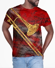 Trombone Art Red All-over T-Shirt aos-all-over-T-shirt-lifestyle-front-04