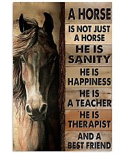 Horse Girl A Horse Is Not Just A Horse 11x17 Poster front