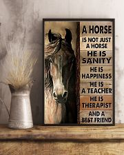 Horse Girl A Horse Is Not Just A Horse 11x17 Poster lifestyle-poster-3
