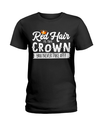 Redhead Red hair is the crown