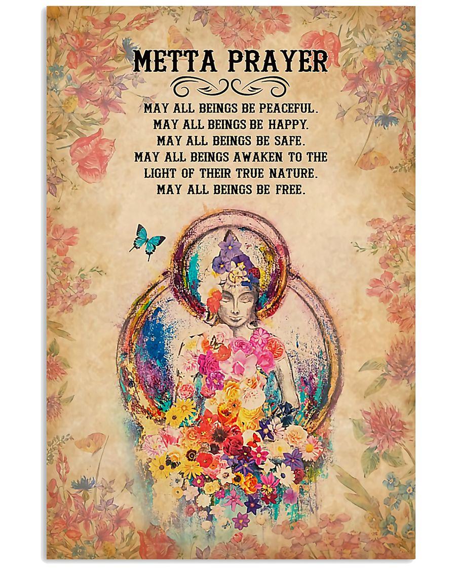 Yoga - Metta Prayer 11x17 Poster
