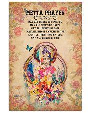Yoga - Metta Prayer 11x17 Poster front