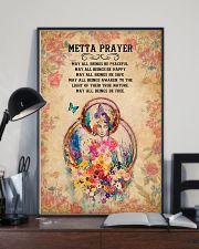 Yoga - Metta Prayer 11x17 Poster lifestyle-poster-2