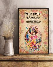 Yoga - Metta Prayer 11x17 Poster lifestyle-poster-3