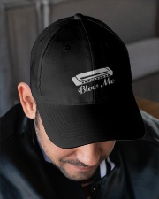 Blow Harmonica Embroidered Hat garment-embroidery-hat-lifestyle-02