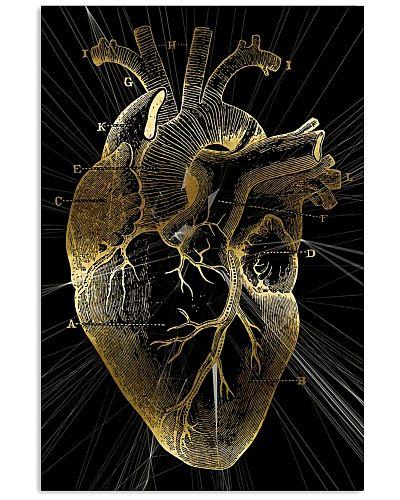 Art Gold Heart Cardiologist
